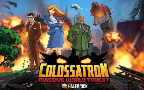 Capture d'écran Colossatron