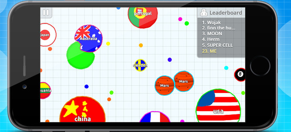 Capture d'écran Agar.io iOS