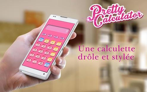 Capture d'écran Jolie Calculatrice