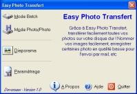 Capture d'écran Easy Photo Transfert