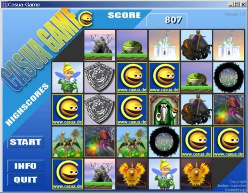 Capture d'écran Casua-Game