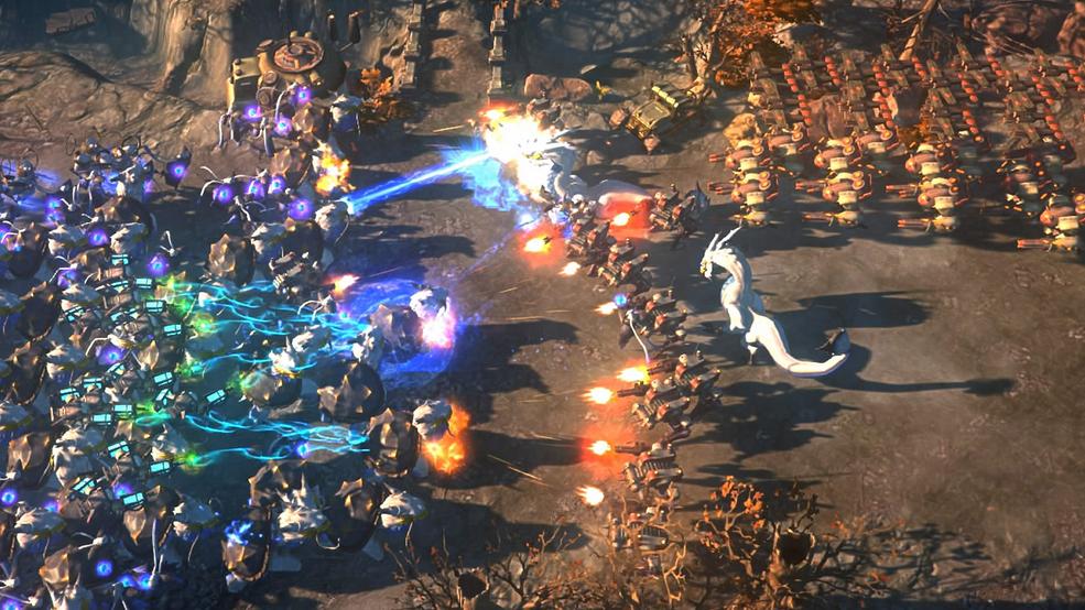 Capture d'écran Art of War: Red Tides