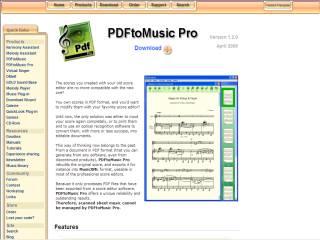 Capture d'écran PDFtoMusic Pro