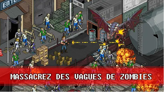 Capture d'écran Fury Survivor: Pixel Z IOS