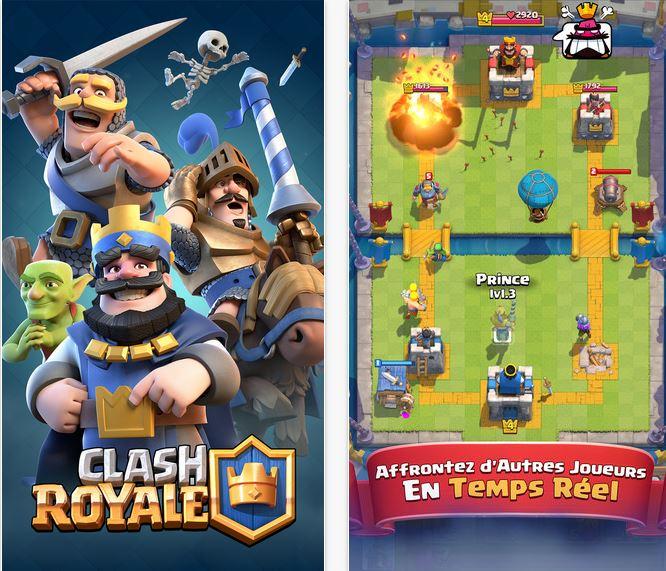 Capture d'écran Clash Royale Android