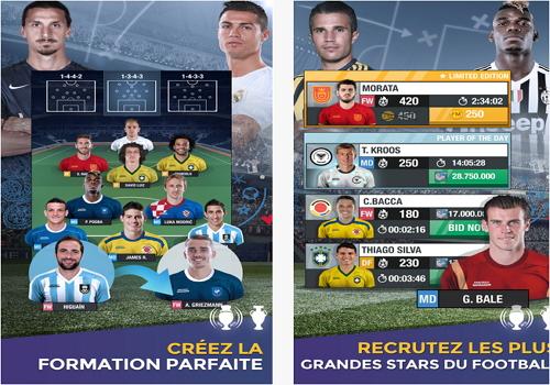 Capture d'écran Fantasy Manager Football 2016 iOS