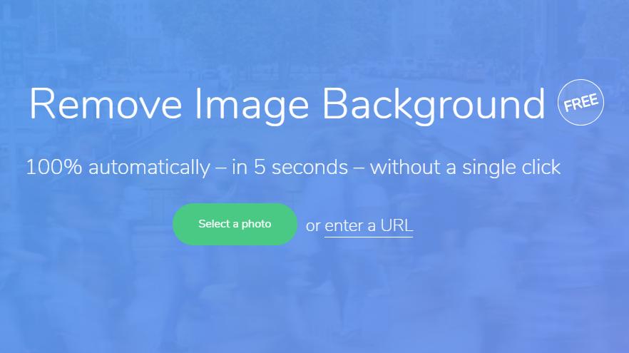 Capture d'écran Remove BG