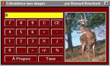 Capture d'écran Calculatrice mes images