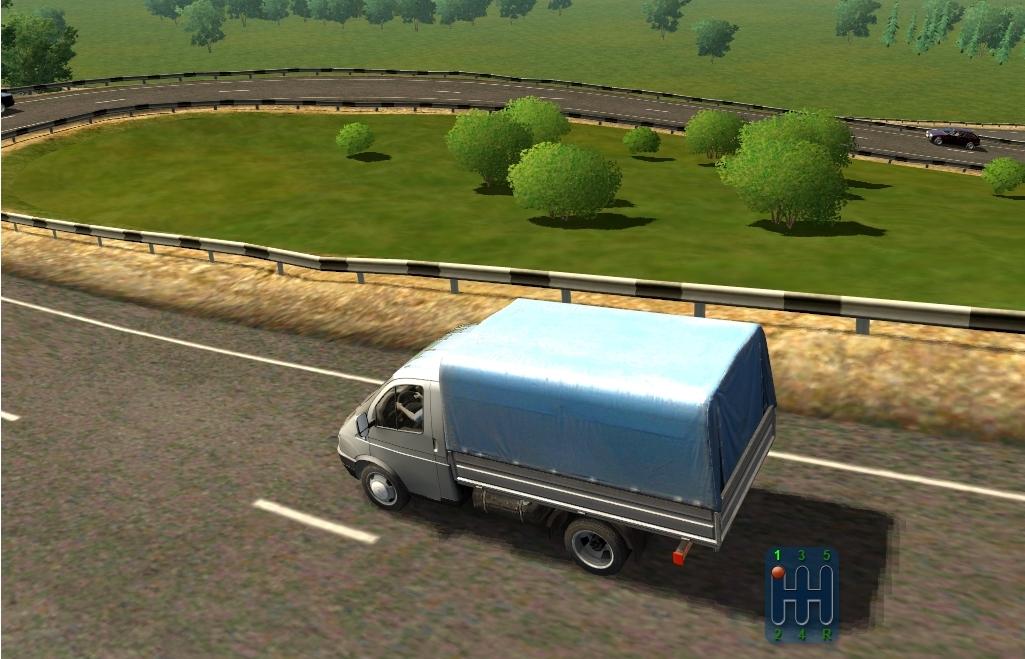 Capture d'écran City Car Driving