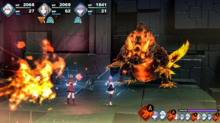 Capture d'écran Fantasian iOS