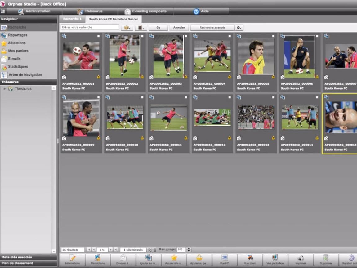 Capture d'écran Orphea Digital Asset Management