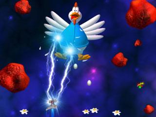 Capture d'écran Chicken Invaders 3