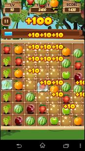 Capture d'écran Fruit Ligne Deluxe