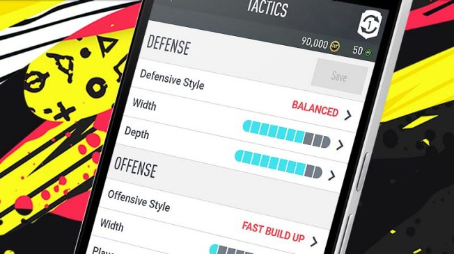 Capture d'écran FIFA 20 Companion iOS