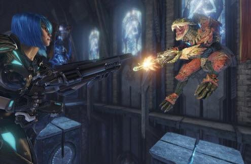 Capture d'écran Quake Champions