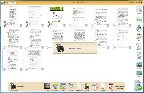 Capture d'écran Free PDF Scanner