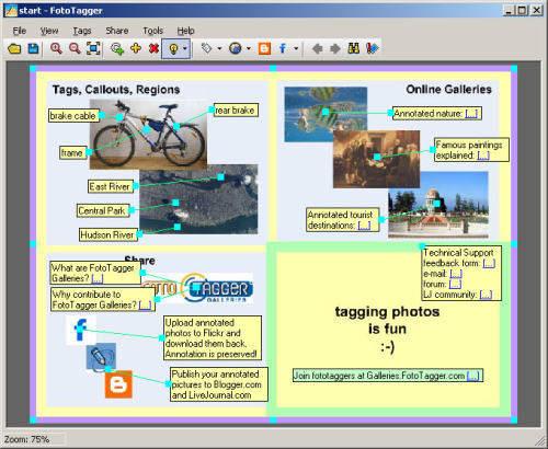 Capture d'écran FotoTagger