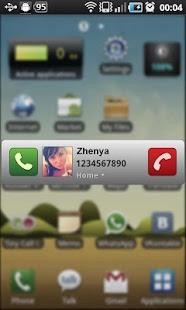 Capture d'écran Tiny Call Confirm