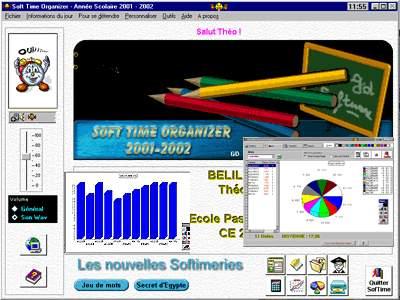 Capture d'écran Soft Time Organizer 2002