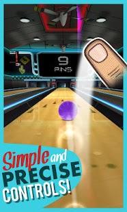 Capture d'écran Roche Bowling 3D – jeu gratuit