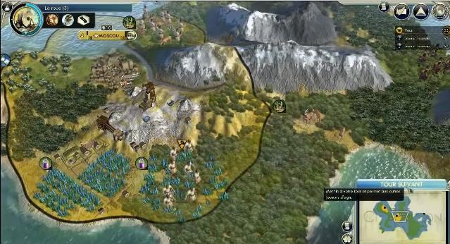 Capture d'écran Civilization V