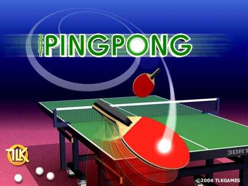 Capture d'écran 3DRT PingPong