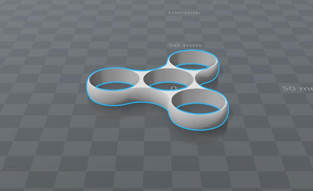 Capture d'écran Modèle 3D Hand Spinner