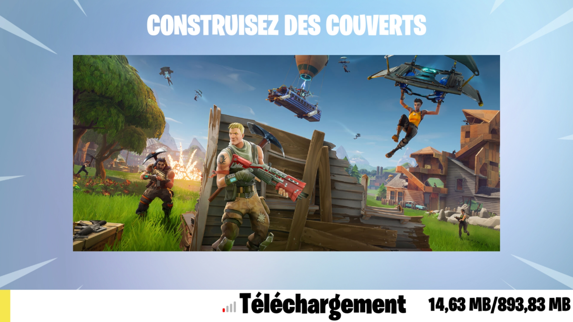 Capture d'écran Fortnite Battle Royale Android