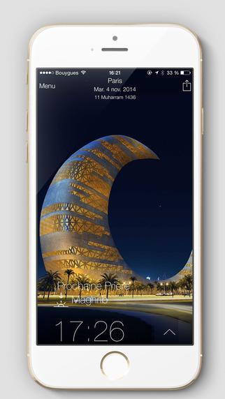 Capture d'écran Athan Pro pour Muslim iOS