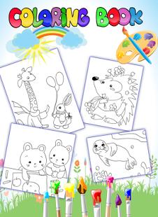 Capture d'écran Coloring Book