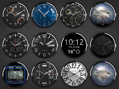 Capture d'écran Clocki – Wear Watch Face Pack