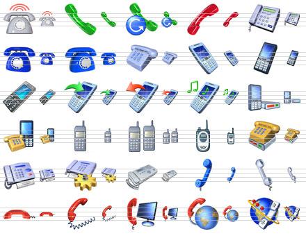 Capture d'écran Small Phone Icons