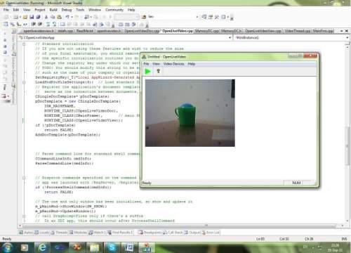Capture d'écran SGS VideoSource Free video component