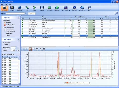 Capture d'écran Axence NetTools Pro