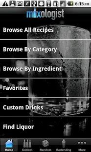 Capture d'écran Mixologist™ RECETTES DE BOISSO
