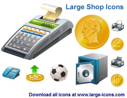 Capture d'écran Large Shop Icons