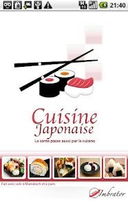 Capture d'écran Cuisine japonaise