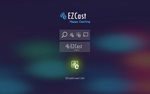 Capture d'écran EZCast