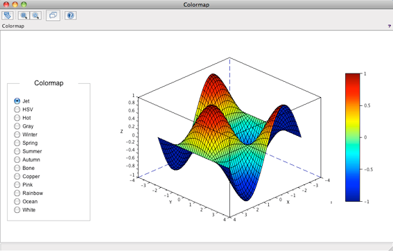 Capture d'écran Scilab