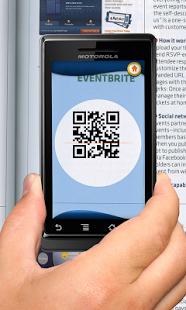 Capture d'écran Leitor Vivo: QR Codes