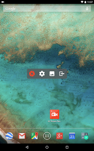 Capture d'écran AZ Screen Recorder – No Root