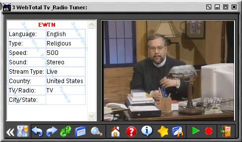 Capture d'écran 3webTotal Tv & Radio Tuner