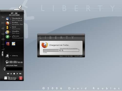 Capture d'écran Liberty