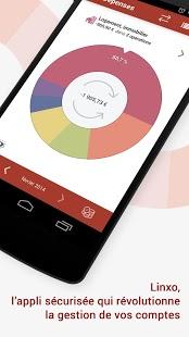 Capture d'écran Linxo – mon budget, ma banque android