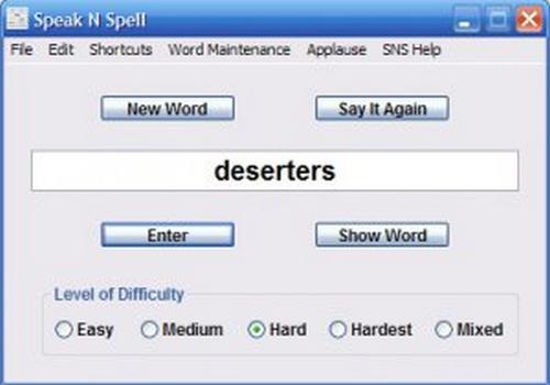 Capture d'écran Speak N Spell