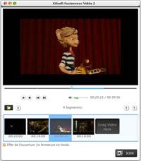 Capture d'écran Xilisoft Fusionneur Vidéo pour Mac