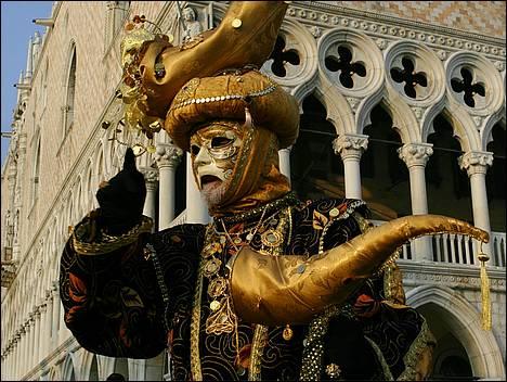 Capture d'écran ecran-de-veille.ORG Carnaval de Venise