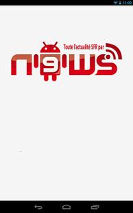Capture d'écran N9ws | actu SFR