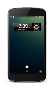 Capture d'écran Clock Widget