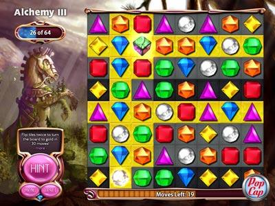 Capture d'écran Bejeweled 3